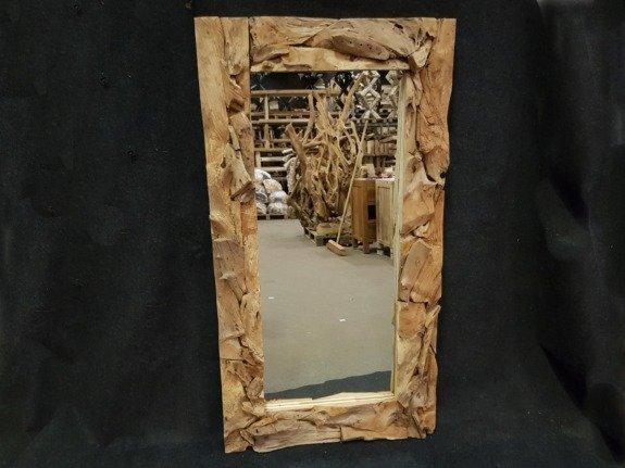 Spiegel, rustiek rechthoek 80x180cm