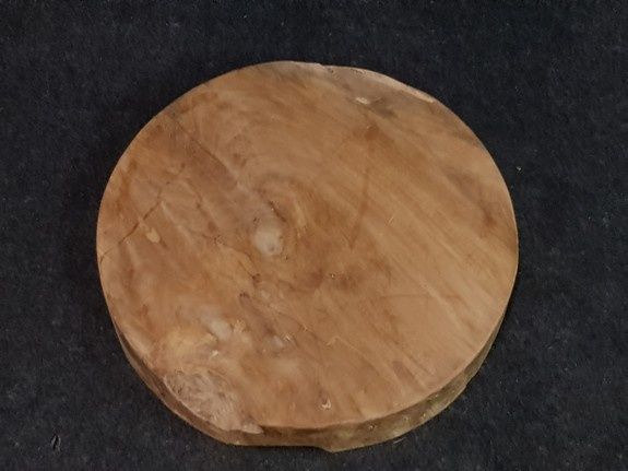 Teak wortelhout schijf 60x10cm - salontafelblad