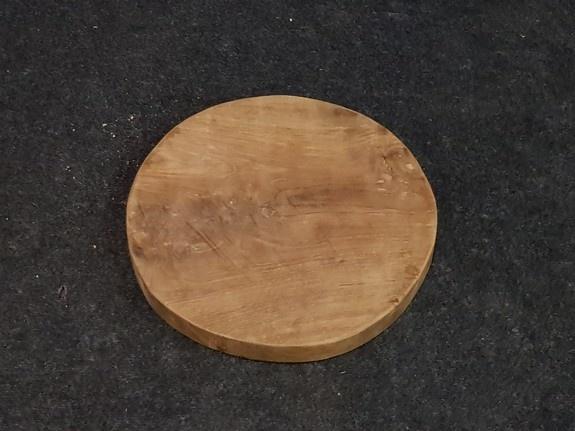 Teak wortelhout schijf 40x4cm - salontafelblad
