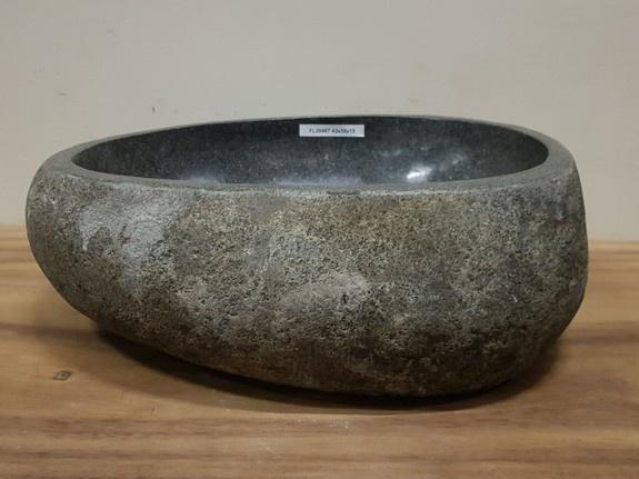 Waskom natuursteen FL20467 - 42x35x15cm