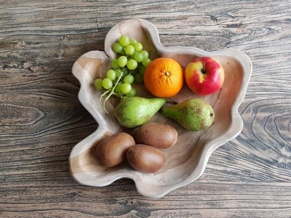 Fruitschaal naturel 30/40cm