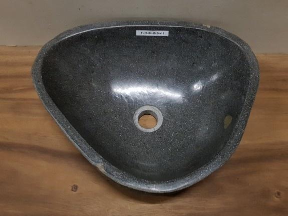 Waskom natuursteen FL20486 - 45x36x15cm