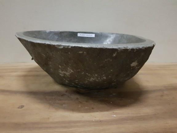 Waskom natuursteen FL20531 - 42x37x15cm