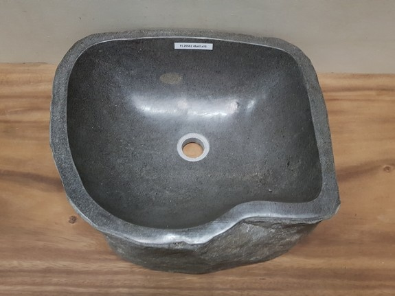Waskom natuursteen FL20562 - 46x41x15cm