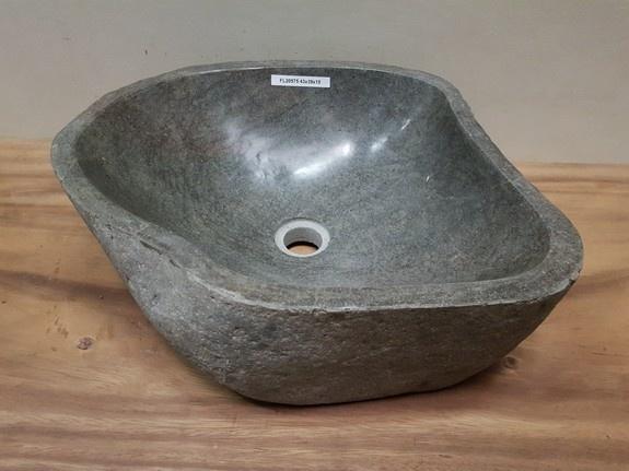 Waskom natuursteen FL20575 - 43x39x15cm