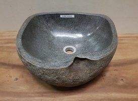 Waskom natuursteen FL20587 - 40x39x15cm
