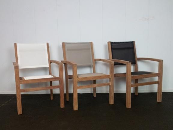 Tuinset Napoli 240cm met 6 stoelen Torino Batyline