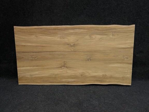 Teak boomstamtafelblad 80x160cm