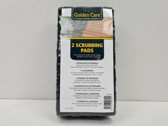 Golden Care - schoonmaakpads - per 2