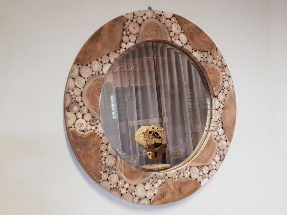 Spiegel, rond 80cm