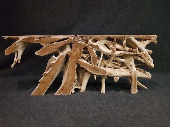 Wortelhouten sidetable 40x200x80cm IJ03-2090