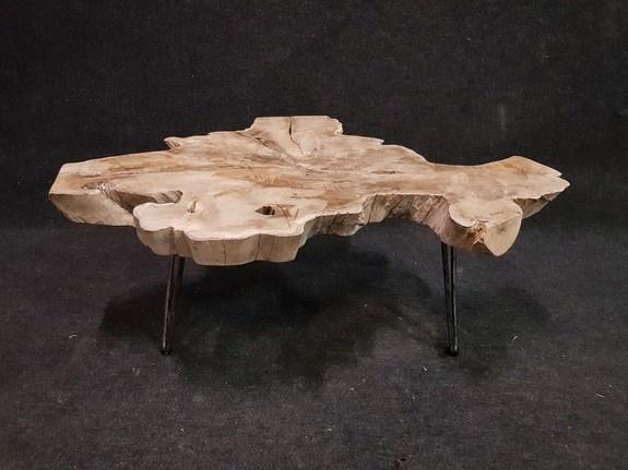 Salontafel 105x82x43cm op pinpoot - RI2102-44