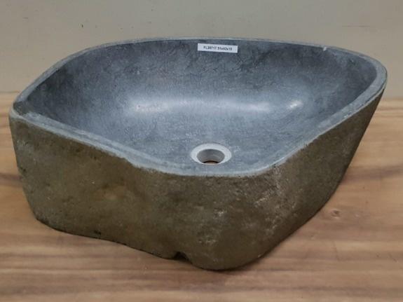 Waskom natuursteen FL20717 - 51x42x15cm