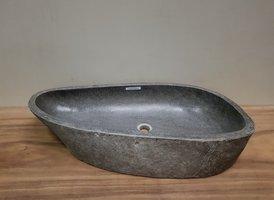 Wasbak natuursteen  FL20693 - 87x39x16cm