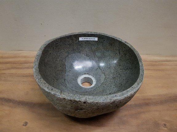 Waskom natuursteen FL20748 - 32x31x15cm