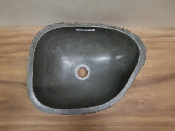 Waskom natuursteen FL20756 - 41x32x15cm
