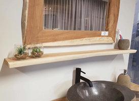 Wandplank suar 160x15x3cm