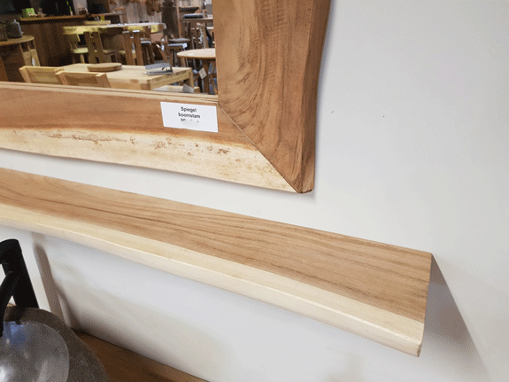 Wandplank suar 220x20x3cm