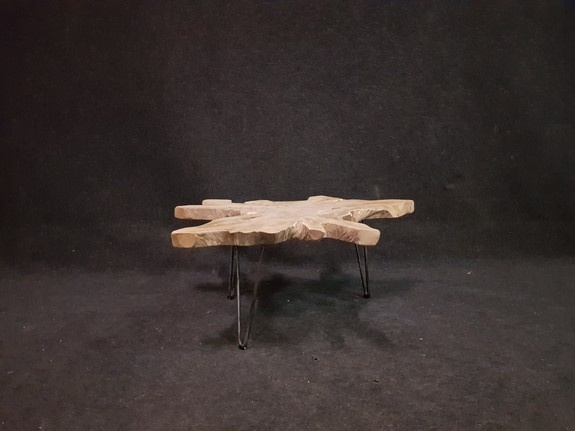 Salontafel op pinpoot 98x105x42cm RI2112-608