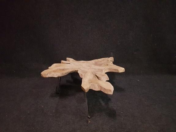 Salontafel op pinpoot 96x102x42cm RI2112-610