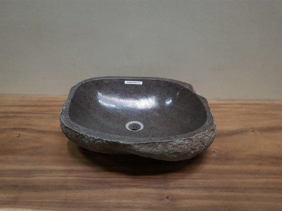 Waskom natuursteen FL20763 - 48x41x15cm