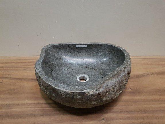 Waskom natuursteen FL20766 - 44x43x15cm