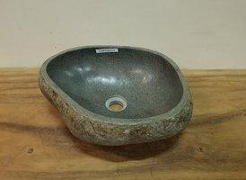 Waskom natuursteen FL20878 - 40x37x15cm