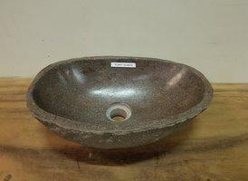 Waskom natuursteen FL20877 - 42x28x15cm