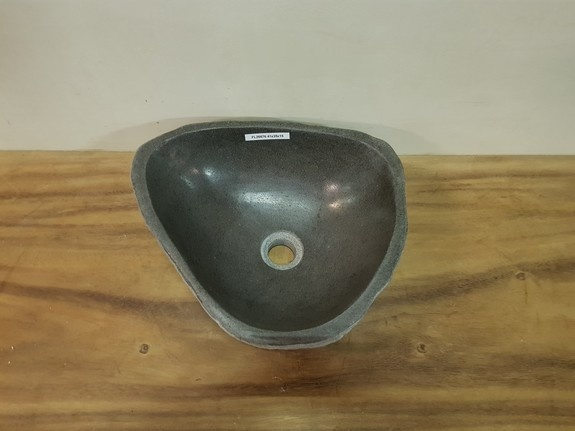Waskom natuursteen FL20876 - 41x35x15cm