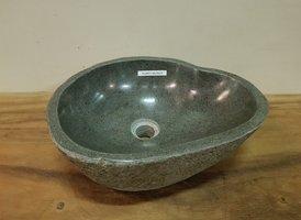 Waskom natuursteen FL20873 - 40x35x15cm