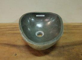 Waskom natuursteen FL20869 - 34x32x15cm