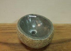Waskom natuursteen FL20868 - 33x30x15cm