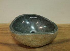 Waskom natuursteen FL20867 - 38x30x15cm