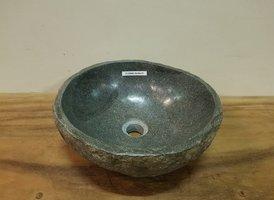 Waskom natuursteen FL20866 - 34x36x15cm