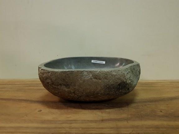 Waskom natuursteen FL20863 - 43x31x15cm