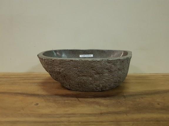 Waskom natuursteen FL20861 - 43x28x15cm