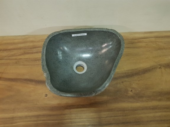 Waskom natuursteen FL20857 - 38x32x15cm