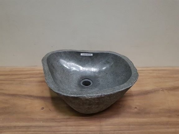 Waskom natuursteen FL20768 - 46x37x15cm