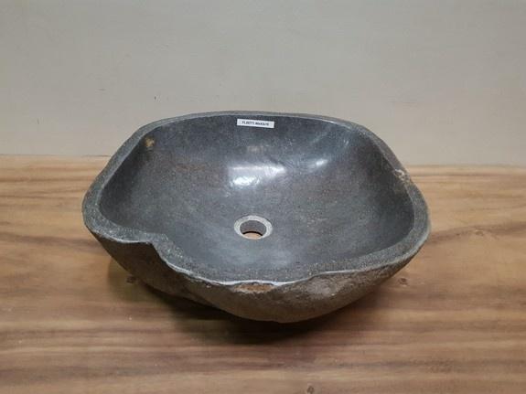 Waskom natuursteen FL20771 - 46x43x15cm