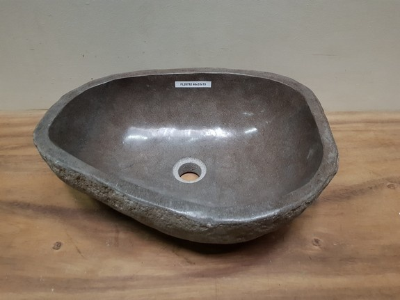Waskom natuursteen FL20782 - 46x33x15cm