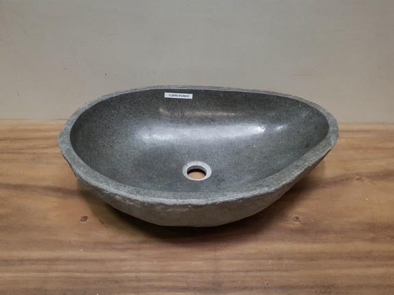 Waskom natuursteen FL20783 - 47x39x15cm