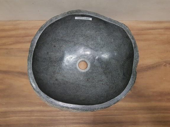 Waskom natuursteen FL20784 - 43x40x15cm