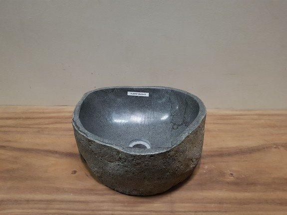 Waskom natuursteen FL20787 - 35x33x15cm