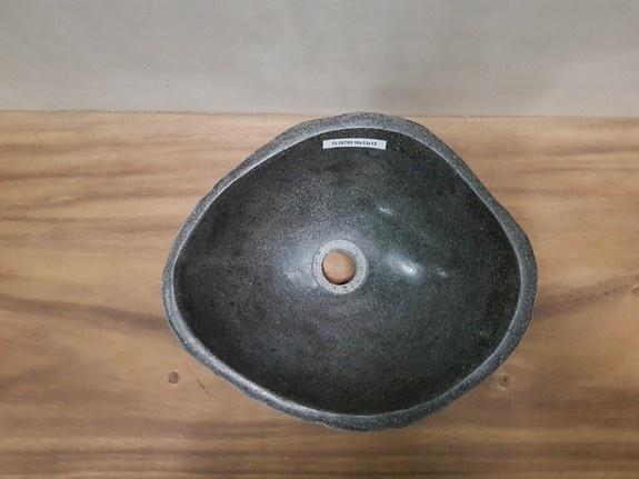 Waskom natuursteen FL20789 - 38x33x15cm