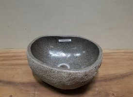 Waskom natuursteen FL20790 - 33x28x15cm