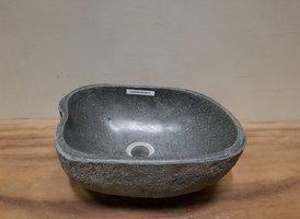 Waskom natuursteen FL20792 - 36x26x15cm