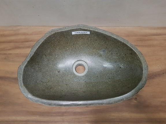 Waskom natuursteen FL20795 - 45x30x15cm