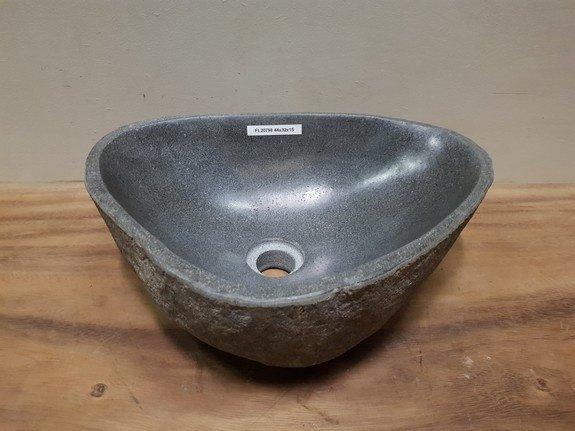 Waskom natuursteen FL20798 - 44x32x15cm
