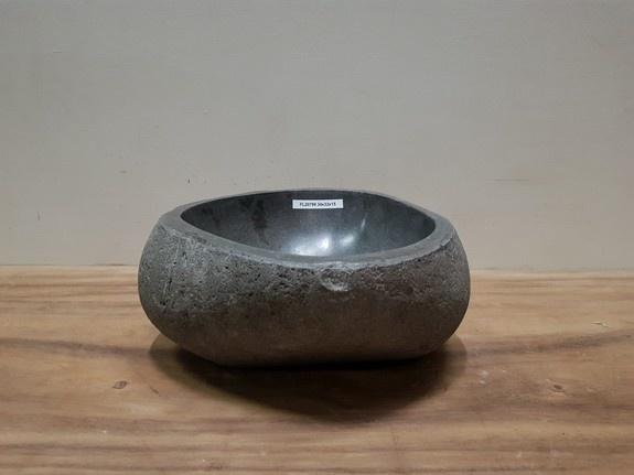 Waskom natuursteen FL20799 - 34x32x15cm