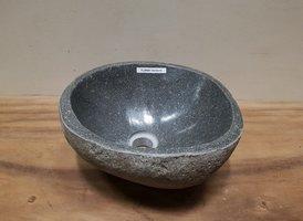 Waskom natuursteen FL20800 - 33x32x15cm